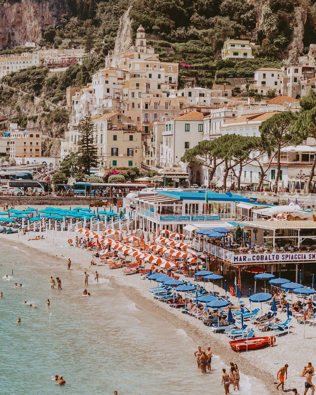 Postcard From The Amalfi Coast Collageontheroad