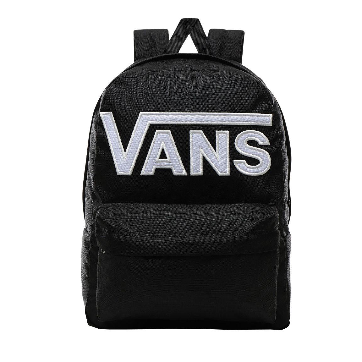 Vans Old Skool III Backpack Black White | Black backpack