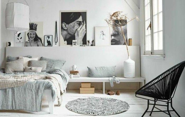 Idées chambre à coucher design en 54 images sur Archzinefr Round