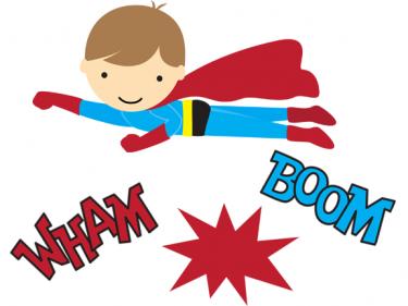 Super Hero Clip Art | Superhero invitations, Superhero printables, Make  your own superhero