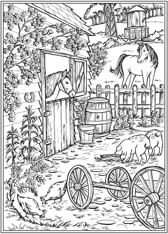 Willkommen bei Dover Publications Creative Haven Country ...