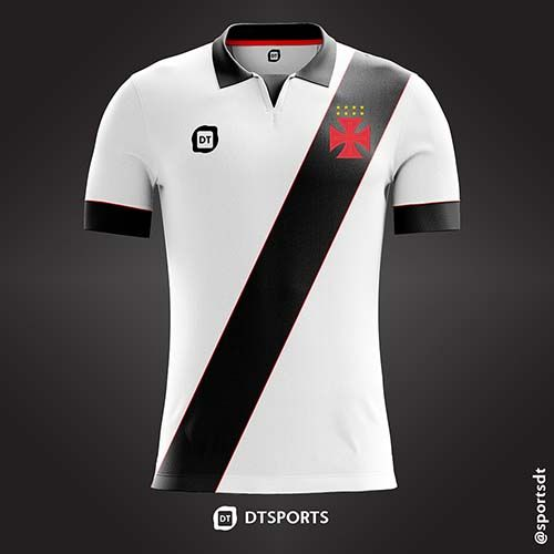56542ac487 Camisa do Club de Regatas Vasco da Gama do Rio de Janeiro-RJ