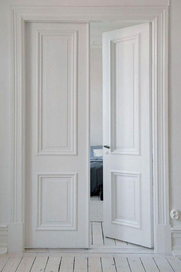 60 Admirable Dreamy Scandinavian Door Inspiration Doorway Doordecorations Doordesign Desain Pintu Pintu Putih Desain