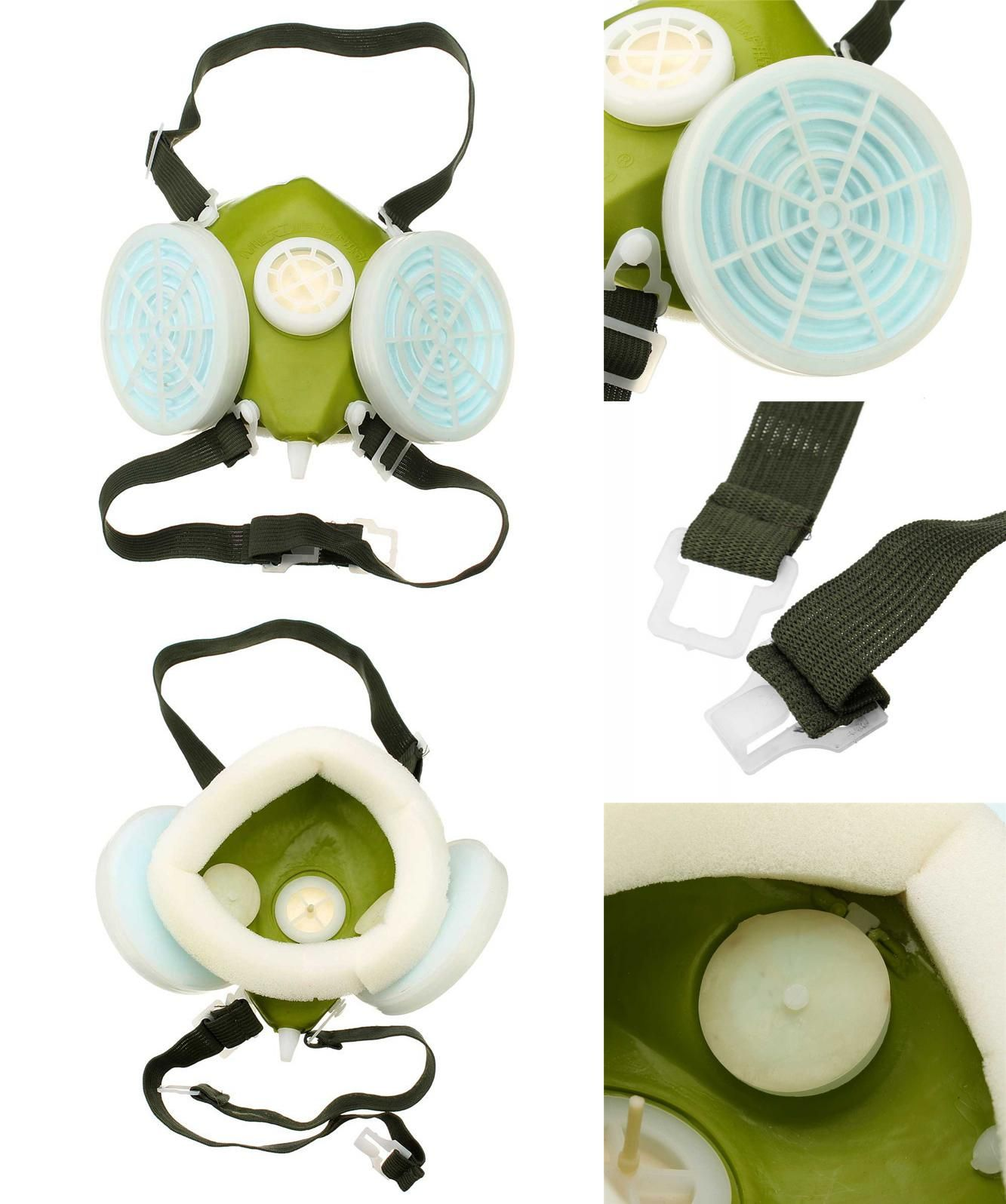 Masks Back To Search Resultssecurity & Protection Double Cartridges Respirator Mask Industrial Gas Chemical Anti-dust Spray Paint Respirator Face Masks Filter