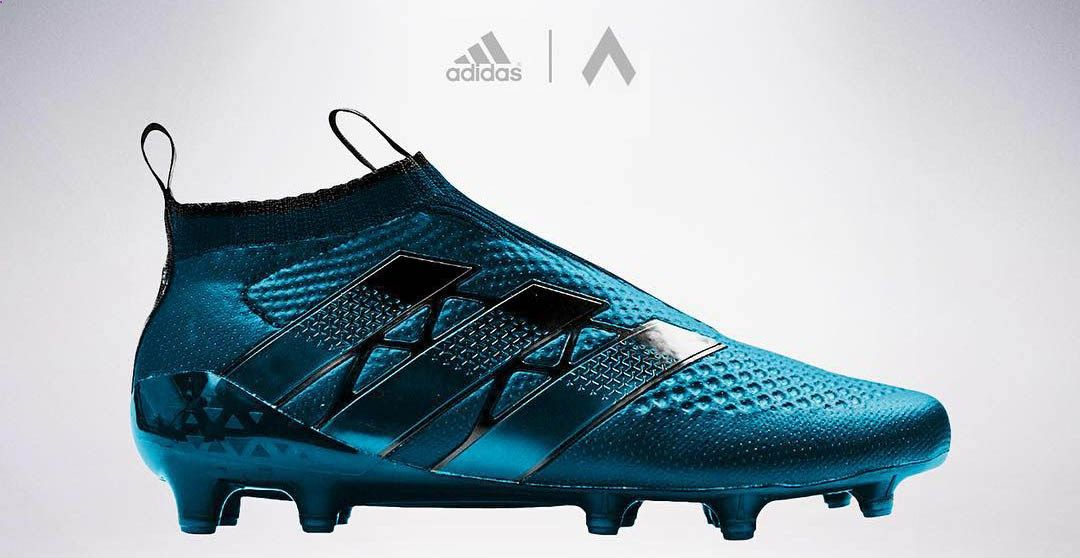 Graphic designer settpace has created seven unique laceless Adidas Ace GTI  Concept Boots. 056f49385e3c8