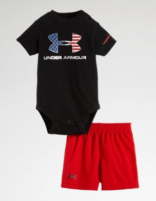Under Armour Baby Boys Ua Flag Logo Set
