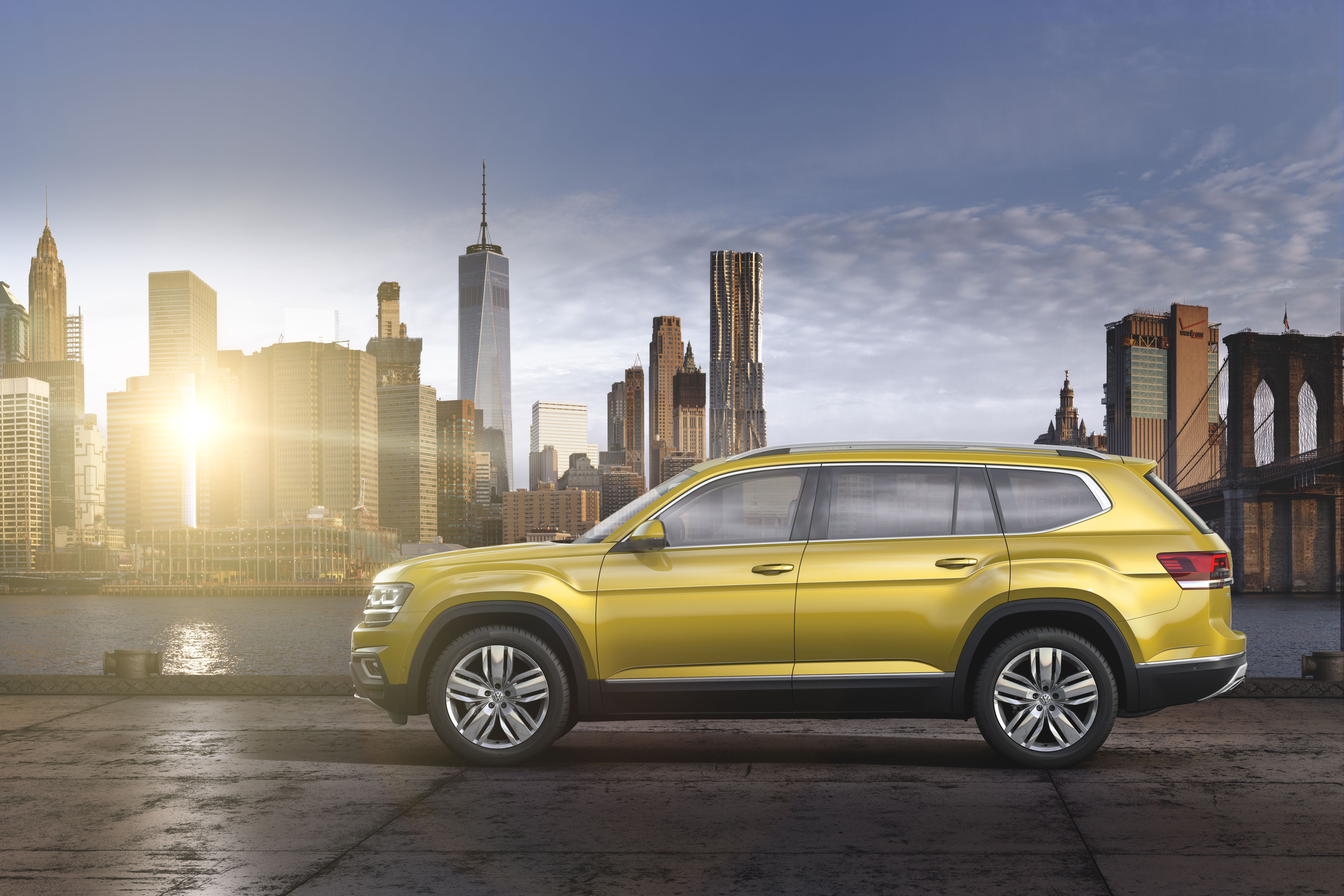 Vw launches the atlas