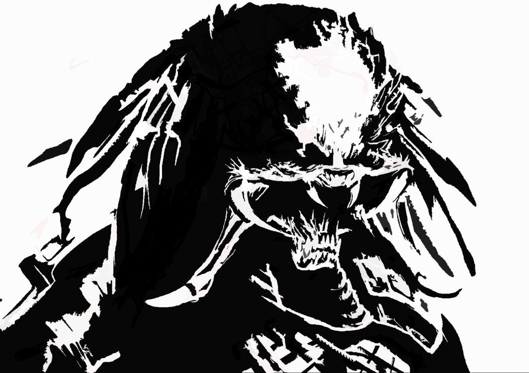 Stencil   Predator stencil by transam23   Вдохновение