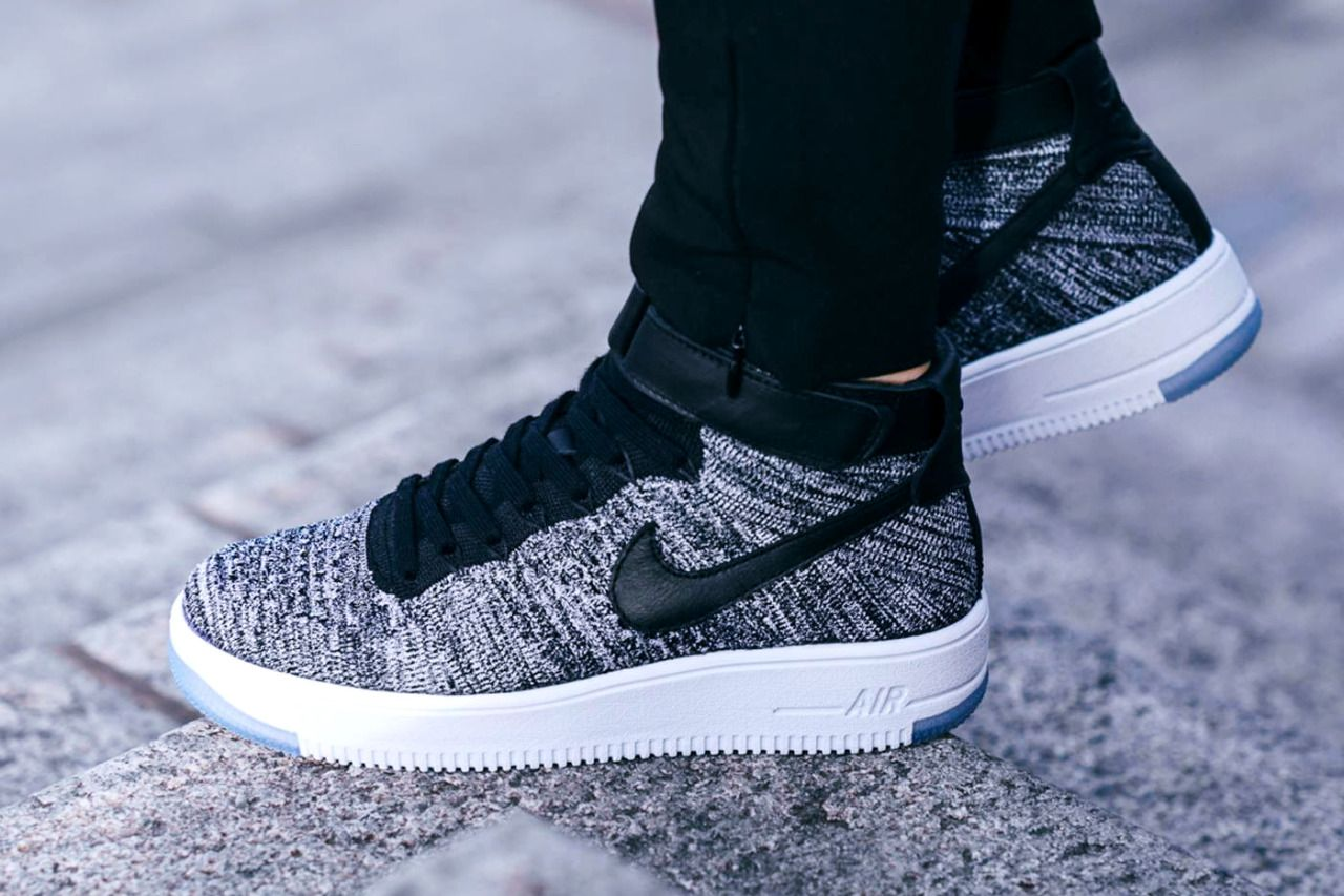NIKE WMNS AIR FORCE 1 ULTRA FLYKNIT 'Oreo' (via Kicks-daily.