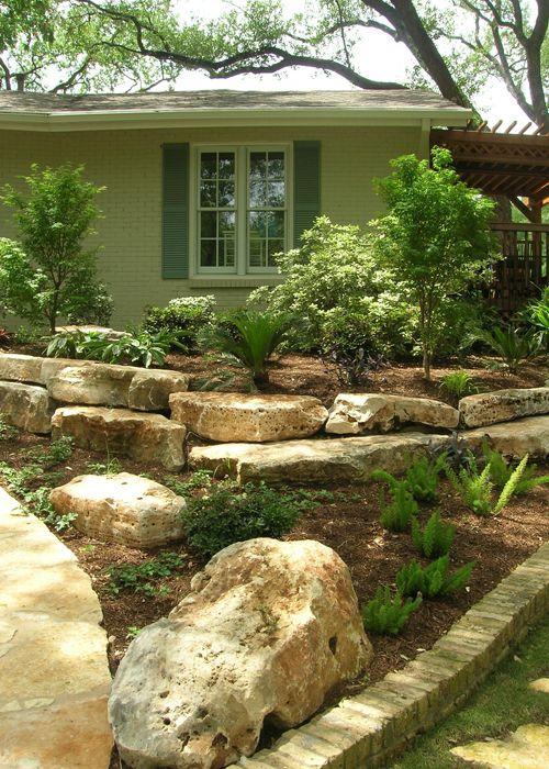 I like the large flat landscaping rocks - I Like The Large Flat Landscaping Rocks Front Yard Landscaping