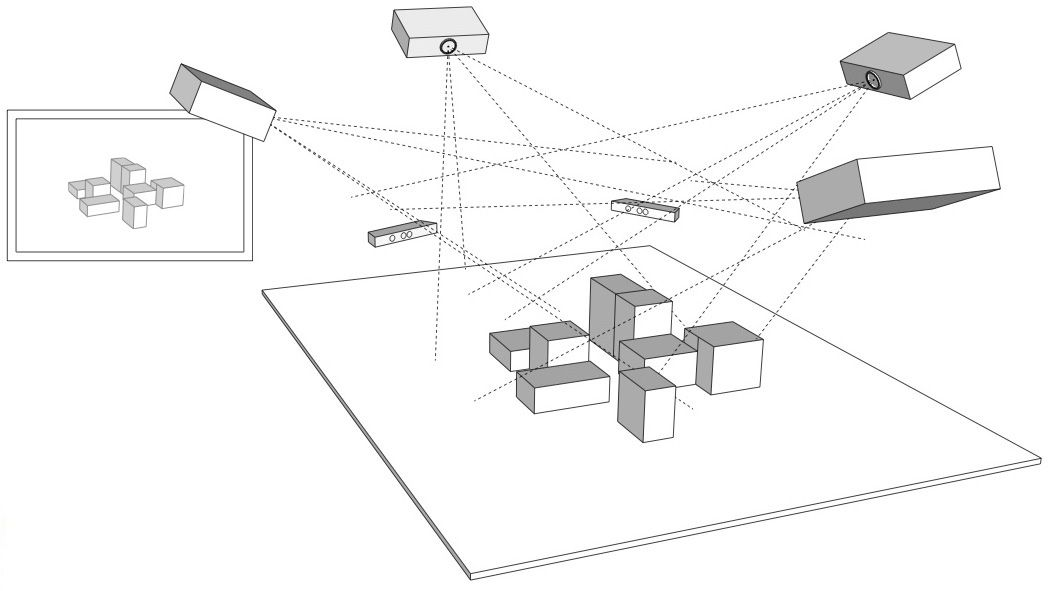 Open-source 3D projection mapping software framework for