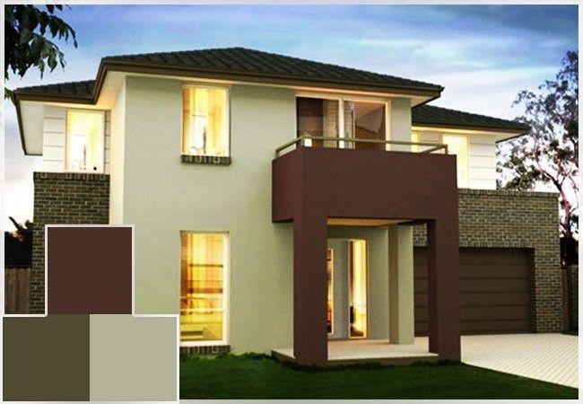 Combinaciones de colores para casas exterior 6 for Disenos de casas interiores y exteriores