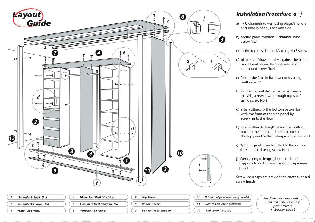 How to Build a Sliding Door Wardrobe   Built in wardrobe ...