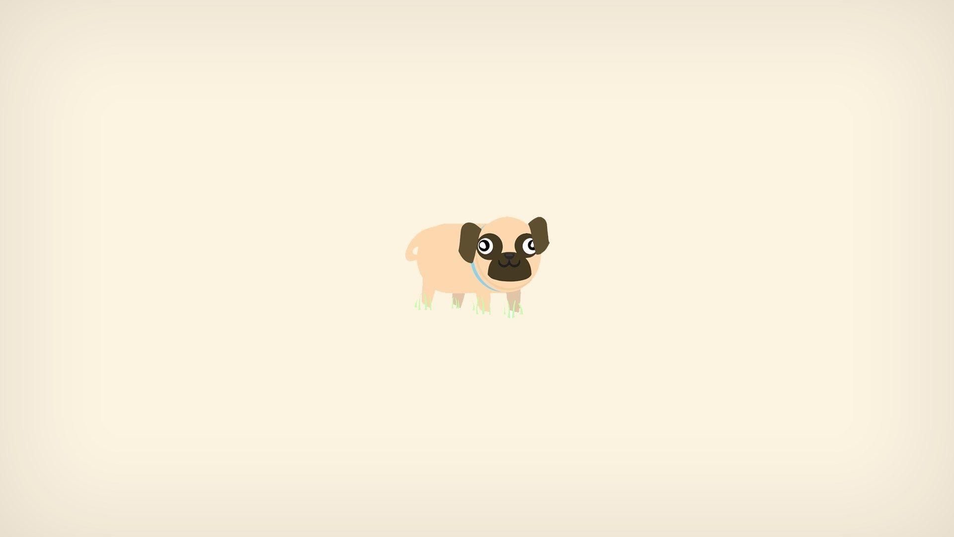 1920x1080 pug computer wallpaper free Dog wallpaper, Pug