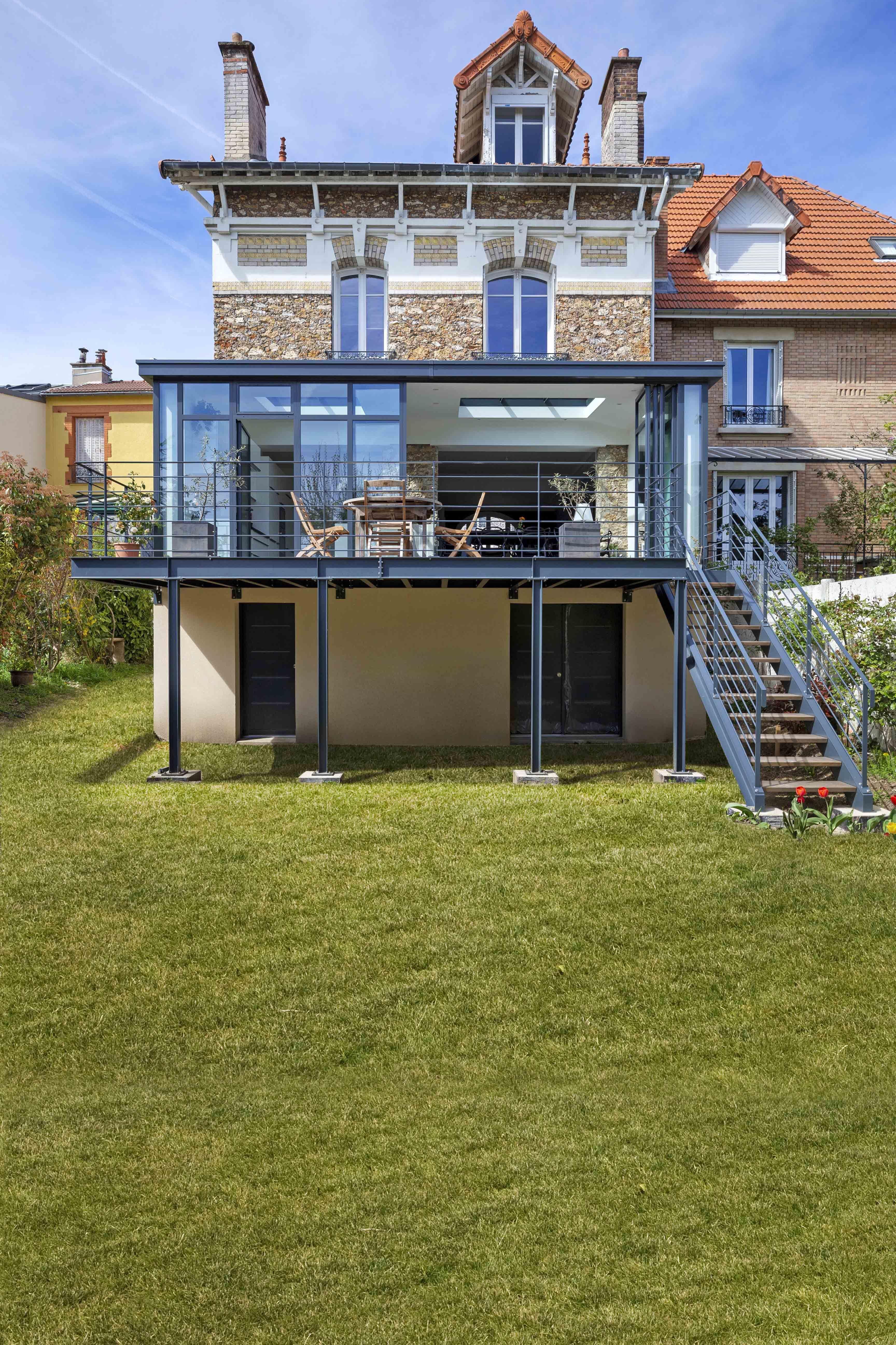 Vous avez des idées de projets originaux ? | Agrandissement maison, Terrasse surélevée, Maison ...