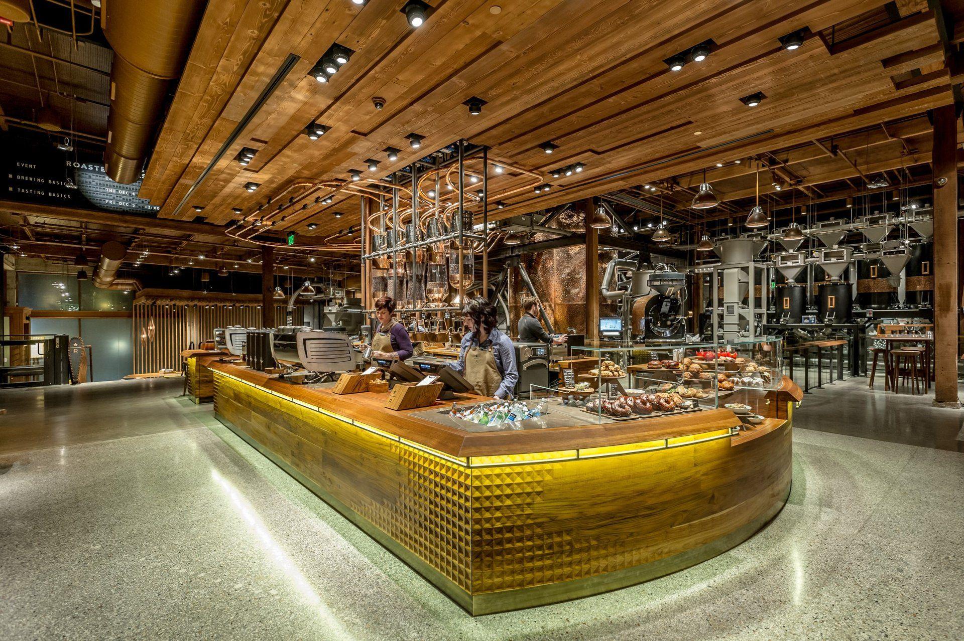 Starbucks Reserve Roastery Tasting Room Interiors