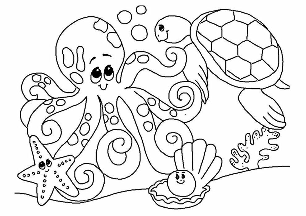 Pin Di Animal Coloring Pages