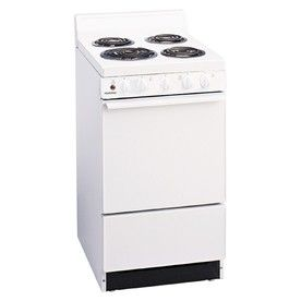 Superbe Shop Holiday Freestanding 2.4 Cu Ft Electric Range (White) (Common: 20 In;  Actual. Apartment IdeasBasement ApartmentStoveTiny ...