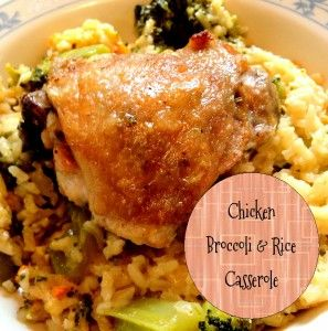 Chicken - Chicken Broccoli and Rice Casserole
