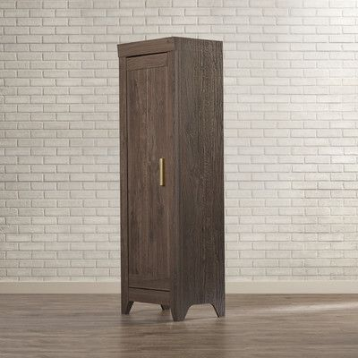 Trent Austin Design Pittsfield 22 68 Narrow Storage Cabinet In Fossil Oak Narrow Storage Cabinet Tall Cabinet Storage Cabinet