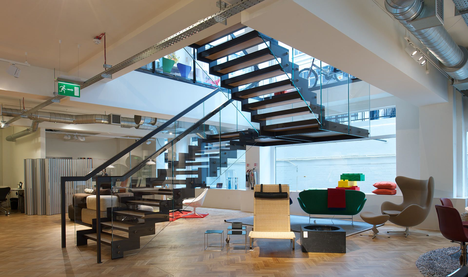 Best Stairs Cantilevered Tintab Contemporary Bespoke Design Manufacturing In Newhaven East 400 x 300
