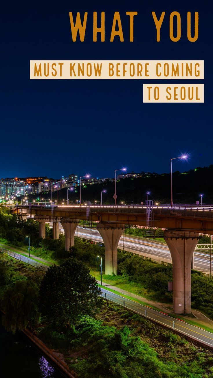 A list of the top things you must know before coming to Seoul! #korea #seoul #seoultravel #koreatrip