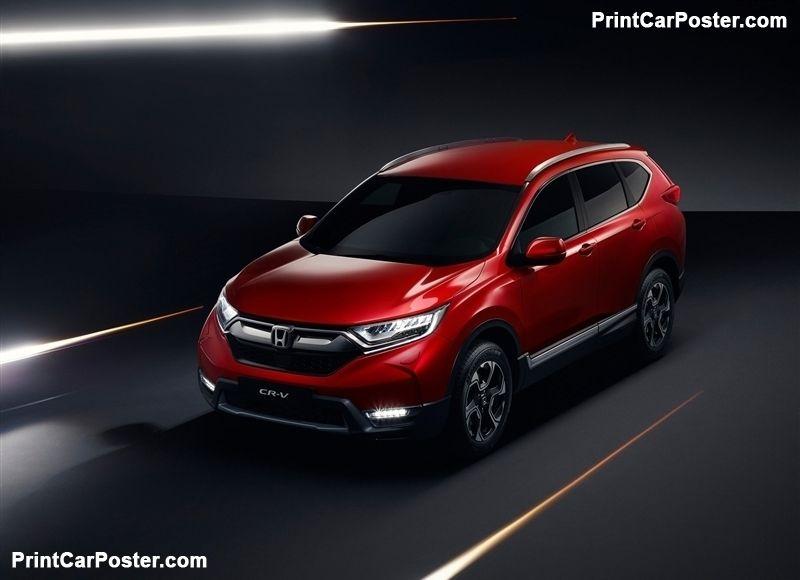 Honda Cr V Eu 2019 Poster Id 1345290 Honda Cr Honda Crv Honda