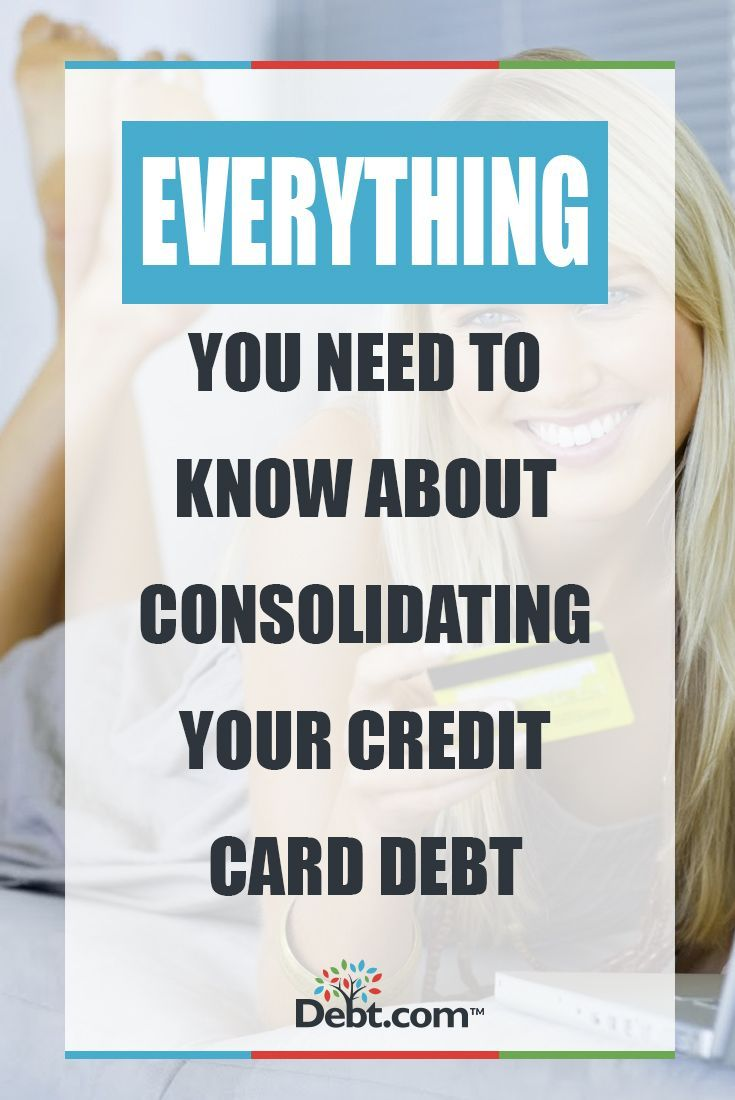 Credit score if consolidating credit card bills
