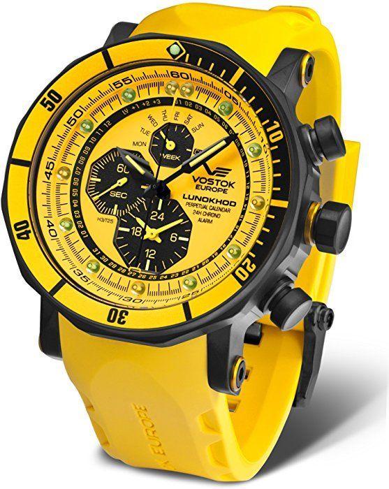 Boutique en ligne 40965 f19b2 Vostok Europe Reloj de caballero YM86-620C504: Amazon.es ...