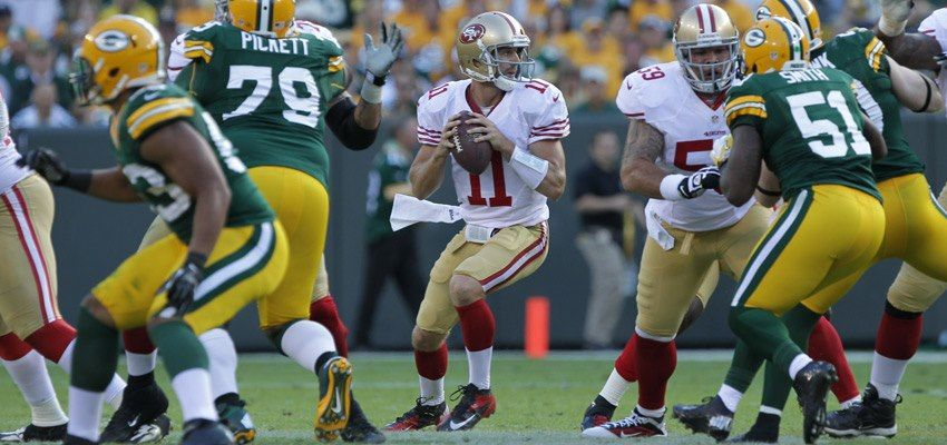 9 9 12 Alex Smith Held Up Under Pressure And Out Performed Aaron Rodgers On Opening Day