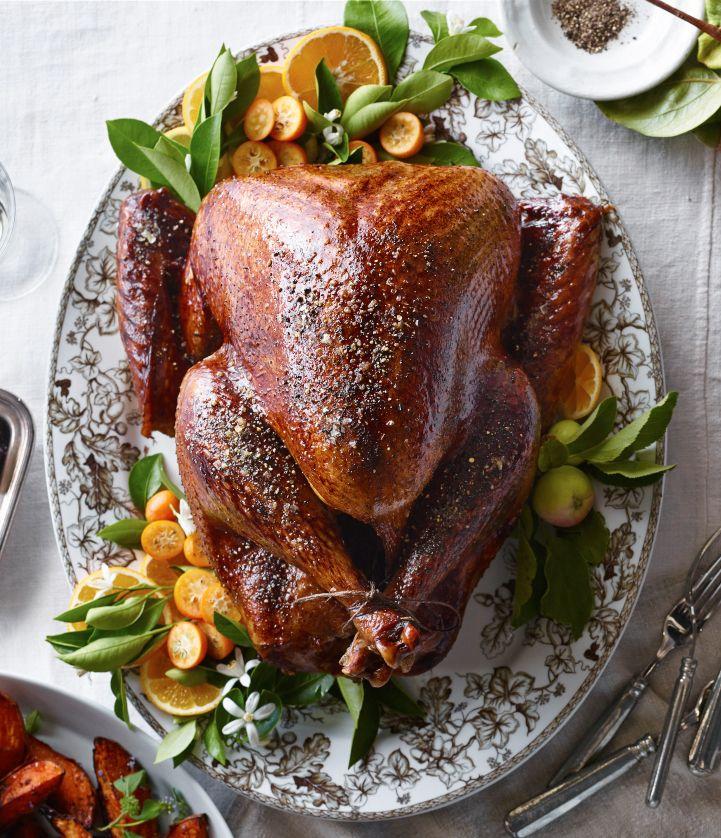 Classic Roast Turkey Recipe Roasted turkey, Food