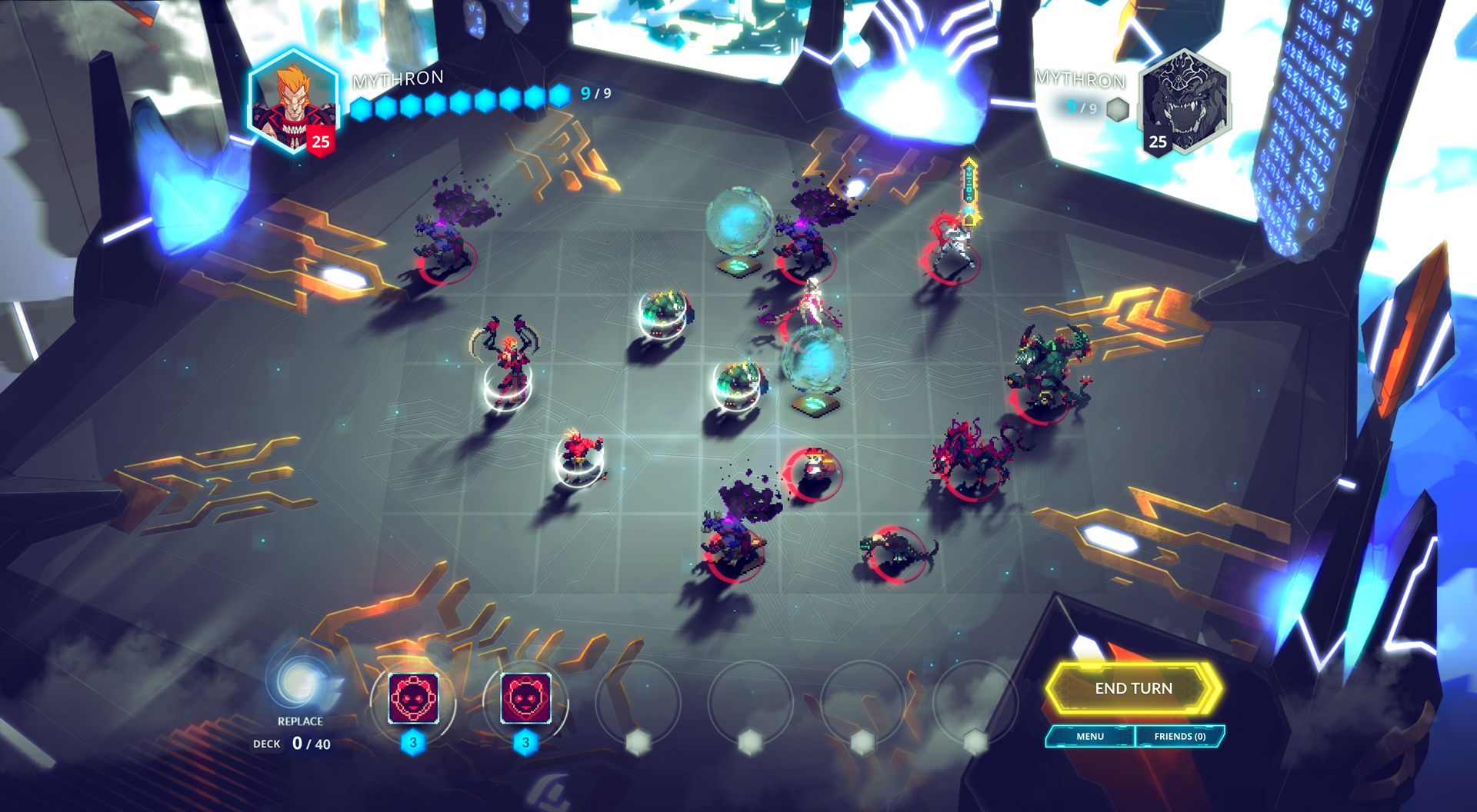 competitive tactics game 'Duelyst' is out today