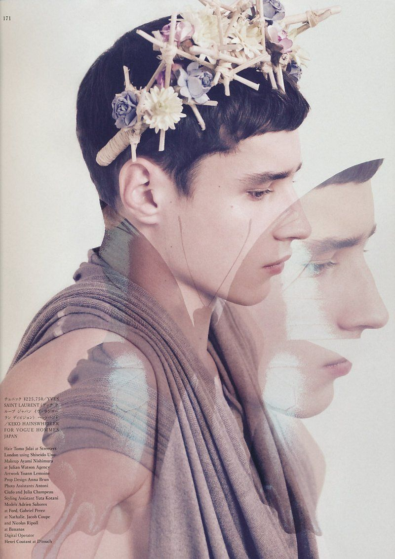A once pale spring vogue hommes japan photography pinterest a once pale spring vogue hommes japan izmirmasajfo