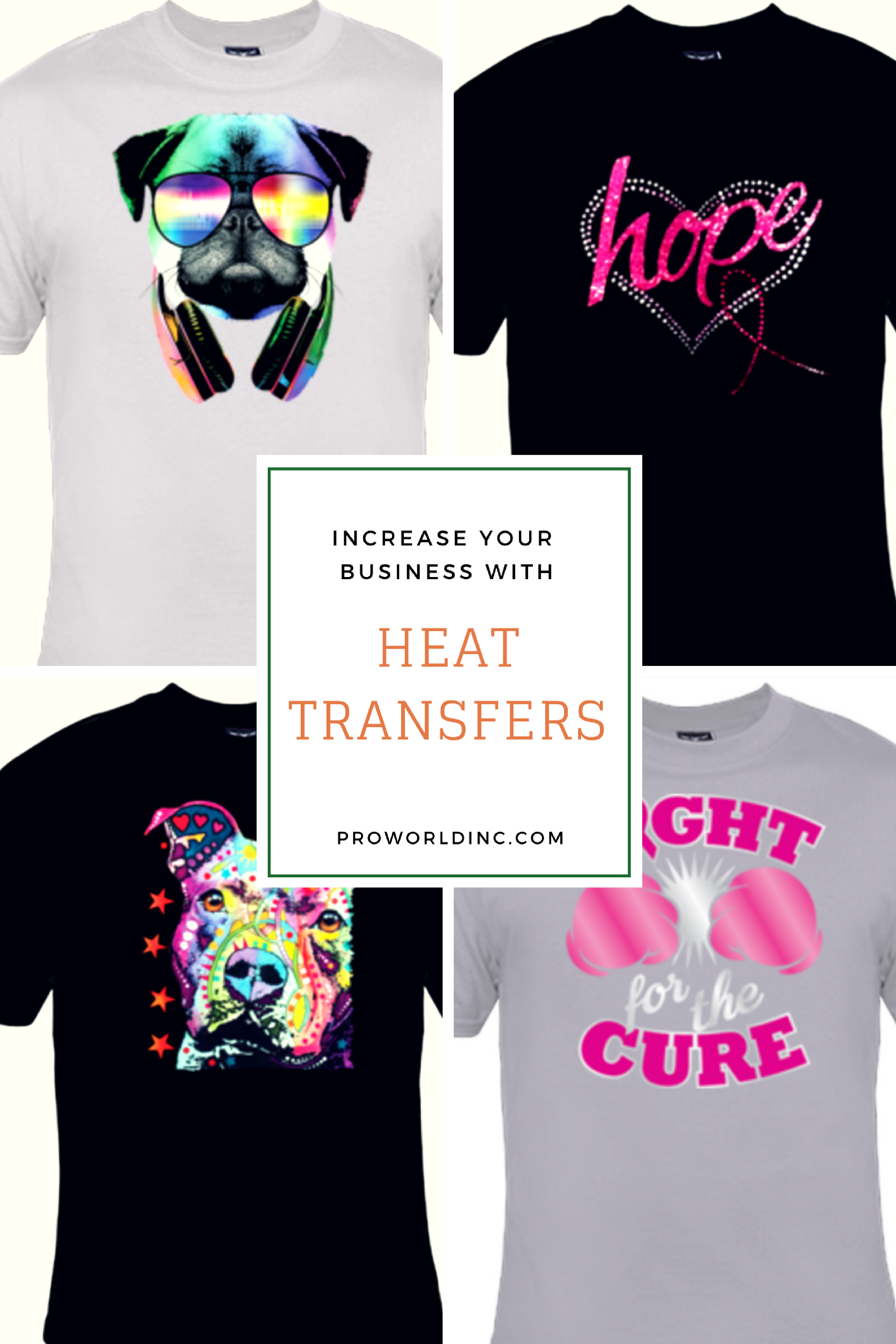 8a72eb995 increase your business with heat transfers and a heat press | pro world