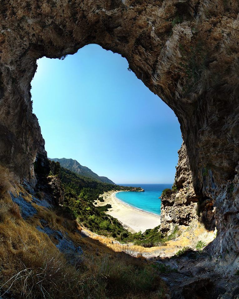 View from the eye! Samos Island