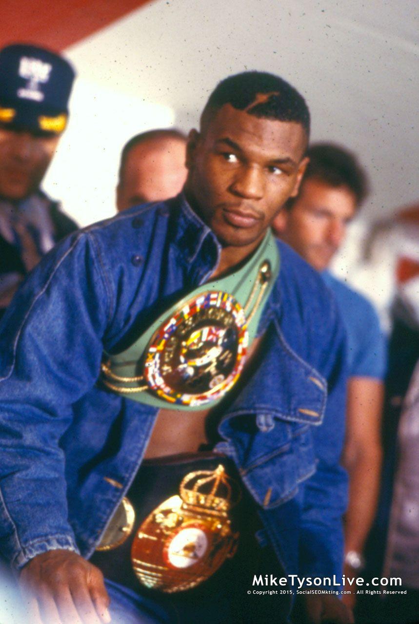 Mike Tyson Looked Pretty Winning 2nd