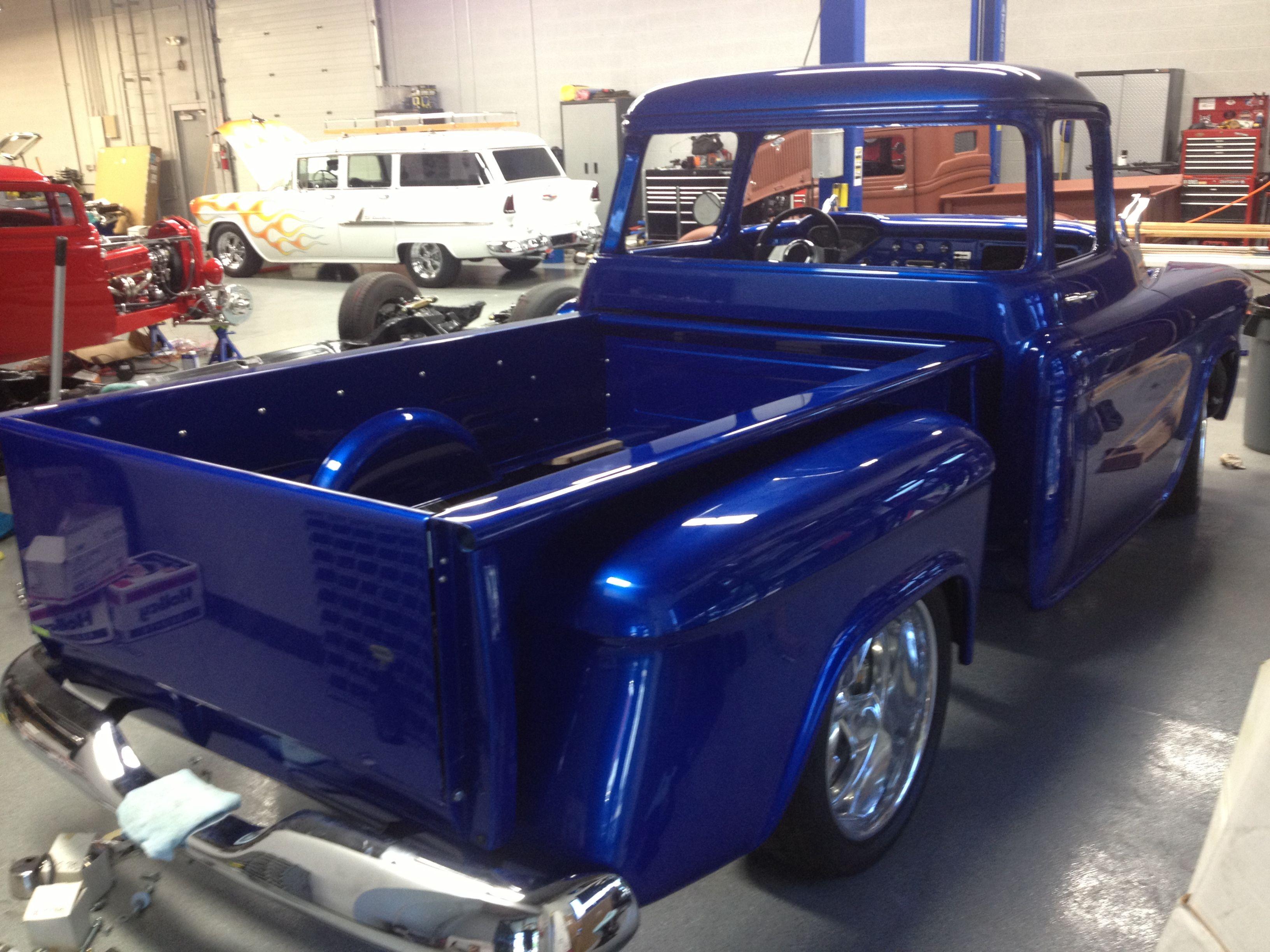 Baby got back! 1956 chevy truck, 57 chevy trucks, Chevy