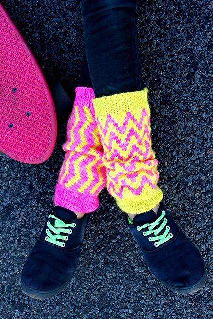 Ravelry: Neon Flux pattern by The Restless Knitter
