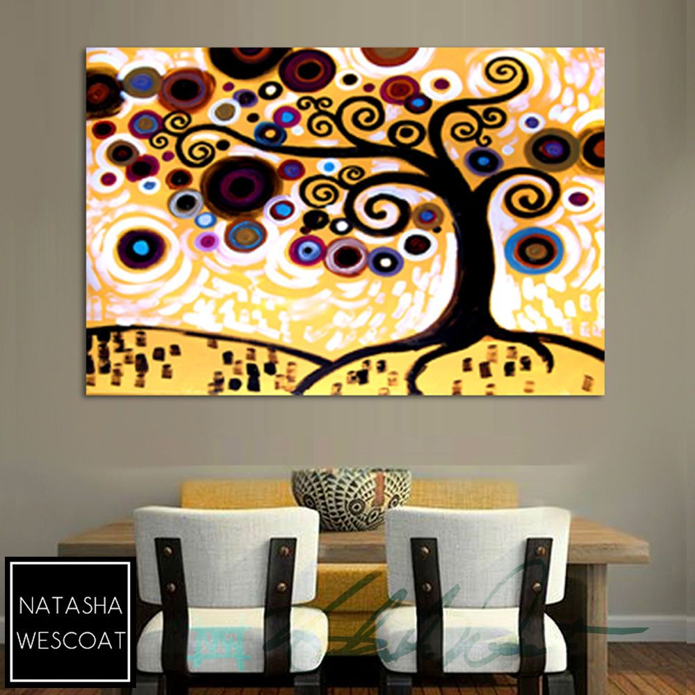 CANVAS WALL ART Print Modern Pop Art NATASHA WESCOAT Original Tree ...