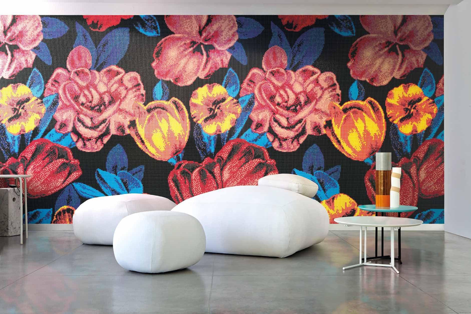 Bisazza #Decori 1x1 cm Superflowers   Glass   im Angebot auf #bad39 ...