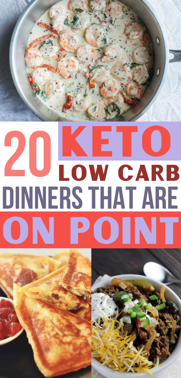 20 Keto Dinners That Are On Point! (Low Carb) #lowcarbrecipes