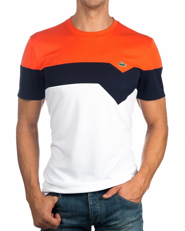 d3956c0f8c32f Camisetas Lacoste Gran Croco - Blanco in 2019