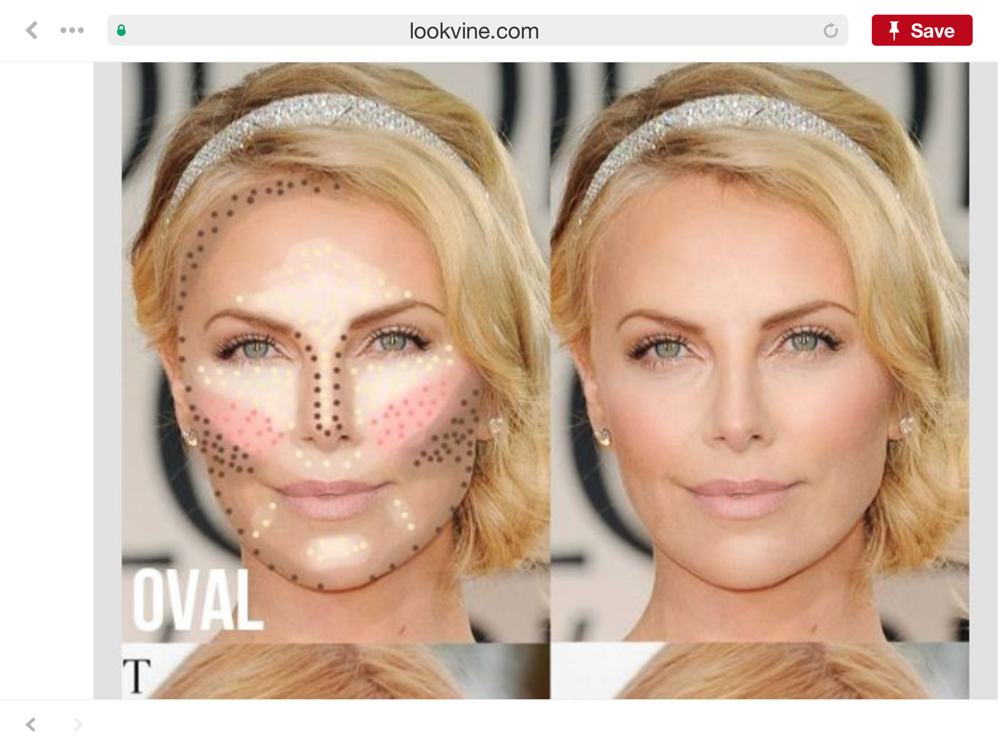 Pin by Meredith King on beauty tips Oval face shapes