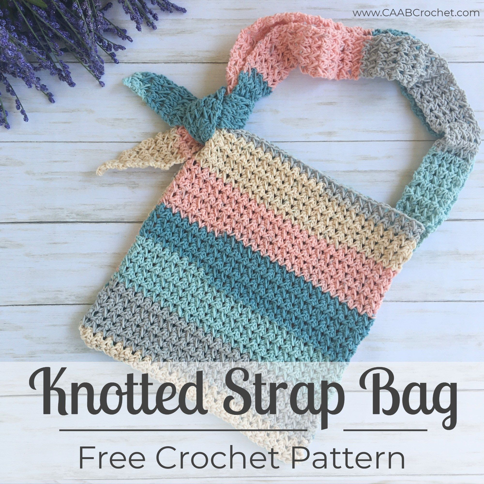 Cotton Cakes Knotted Strap Bag Cute As A Button Crochet Craft Crochet Bag Pattern Crochet Patterns Leg Warmers Crochet Pattern