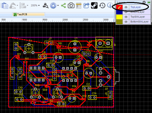 PCB Design for Voice Modulator Circuit | PCB Designs | Pinterest ...