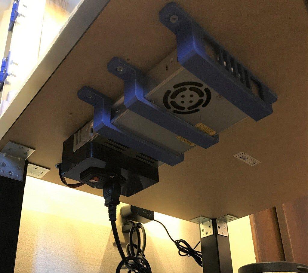 Ender 3 Ender 3 Pro Netzteilhalterung Von Davycr Thingiverse 3d Printing Diy 3d Printing Business 3d Printer Designs