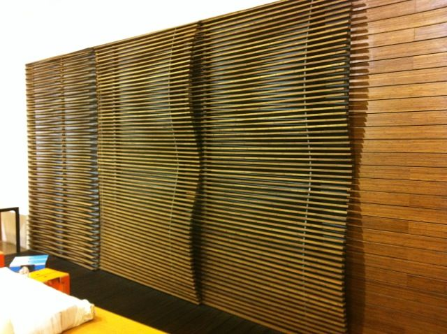A Very Common Application Of Solid Plywood Bamboo Panels Is As Wall Cladding.  Here Are A Few Examples Of Bamboo Wall Cladding To Give You A Few Ideas .
