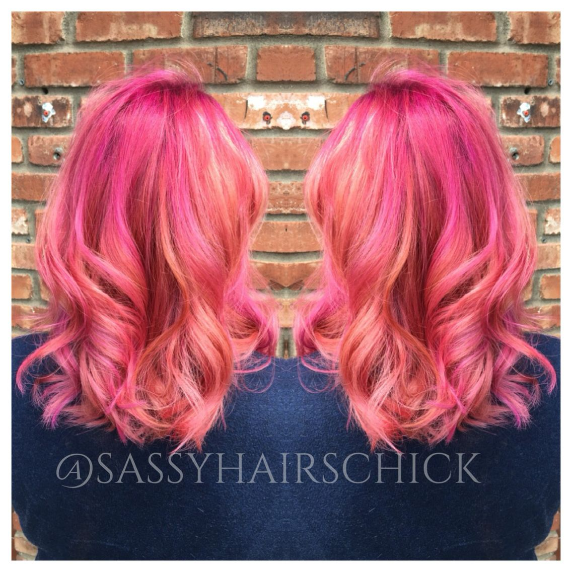 bubblegum princess hair haute