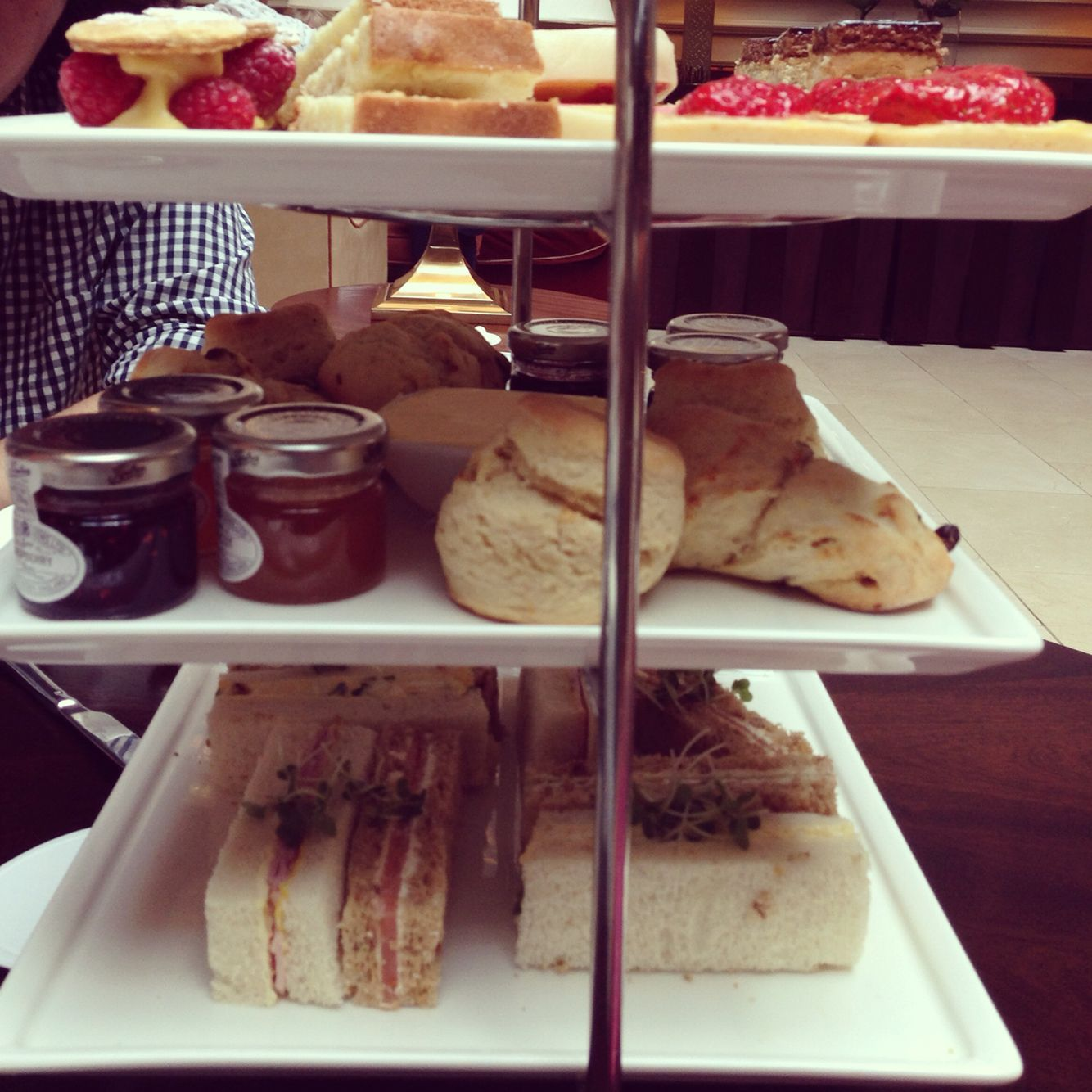 High tea in the UK