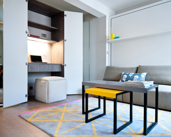 Black And Milk Residential Houzz Co Uk Small Apartment Interior Interior Design Apartment Small Apartment Interior Design